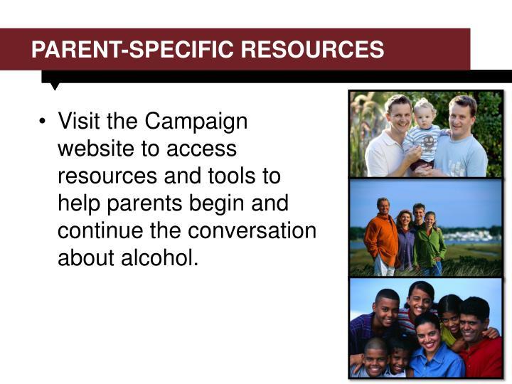Parent-specific resources