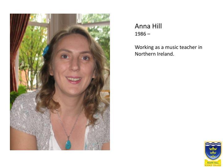 Anna Hill