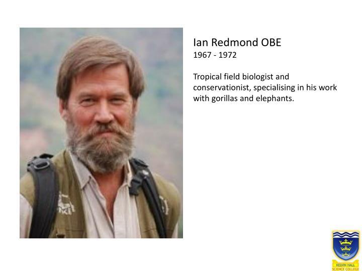 Ian Redmond OBE