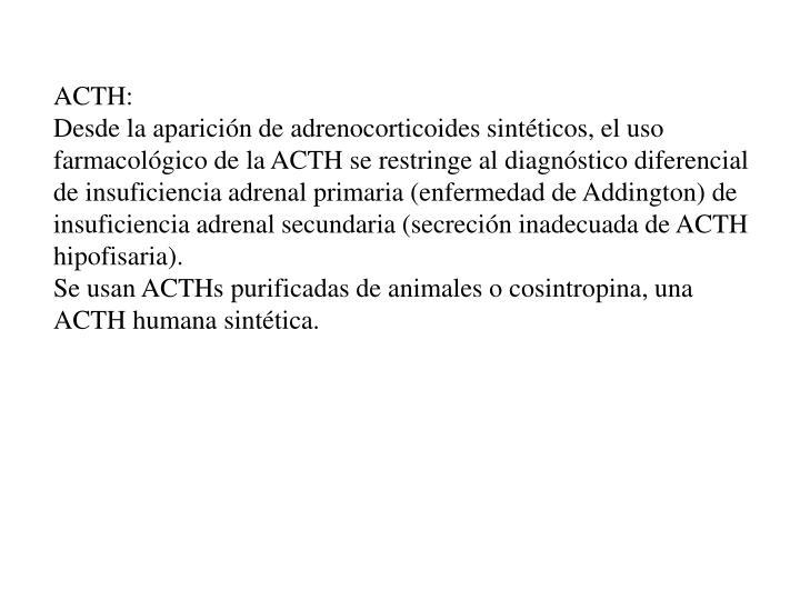 ACTH: