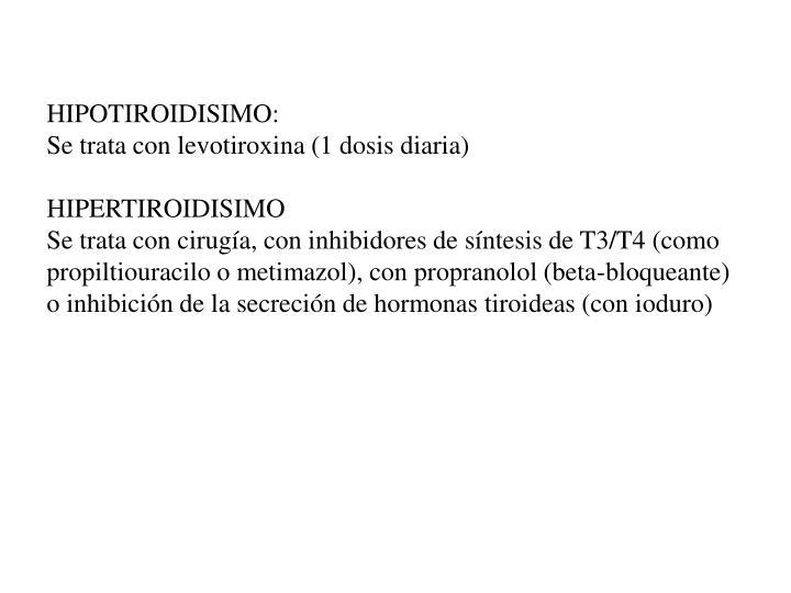 HIPOTIROIDISIMO: