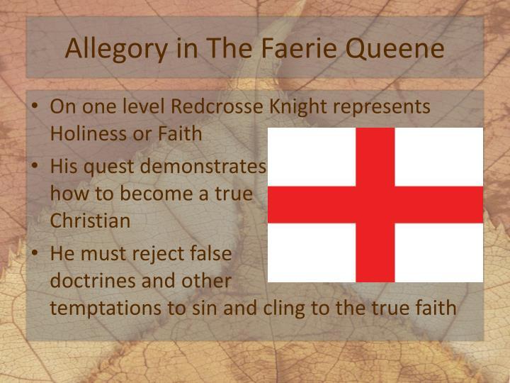 Allegory in The Faerie Queene