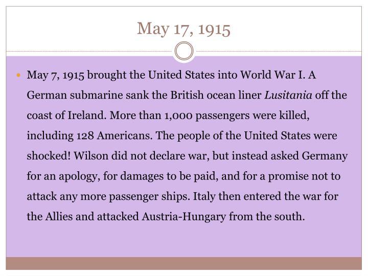 May 17, 1915