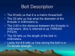 bolt description1