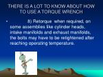 there is a lot to know about how to use a torque wrench