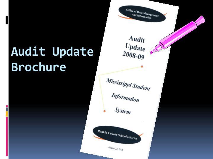 Audit Update