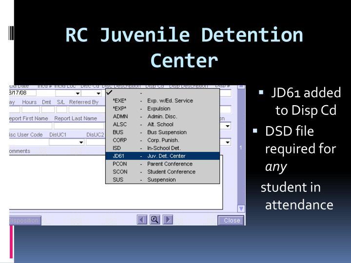 RC Juvenile Detention Center