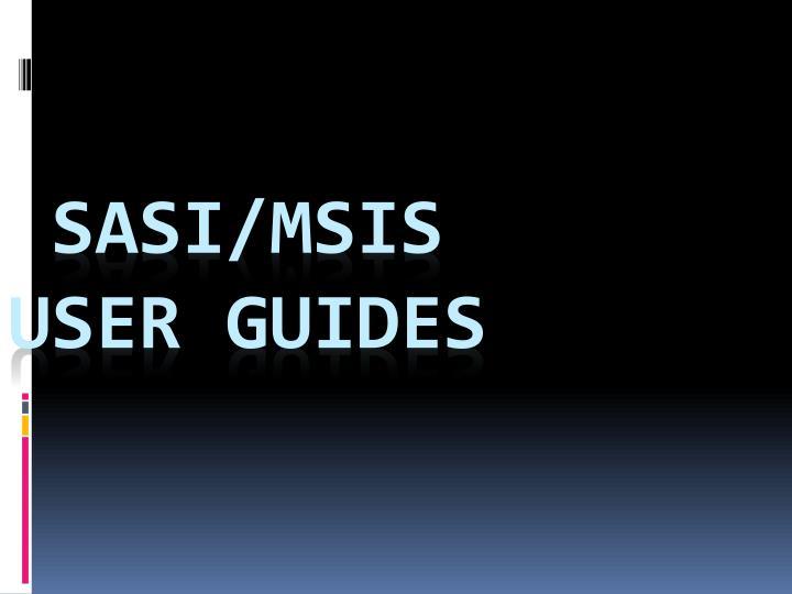SASI/MSIS