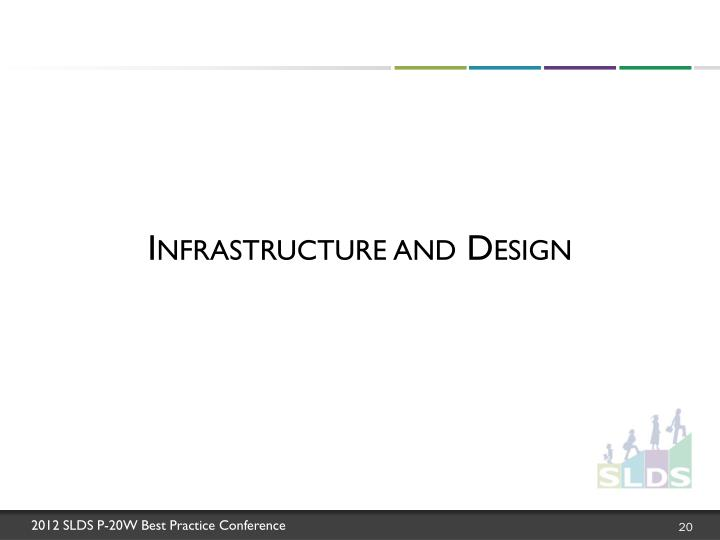 Infrastructure and Design