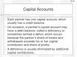 capital accounts1