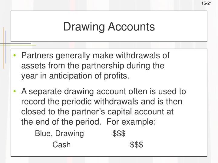 Drawing Accounts