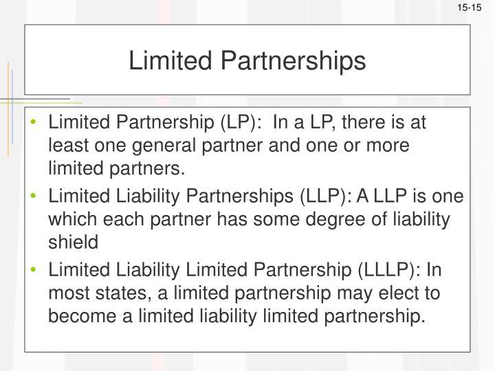 Limited Partnerships