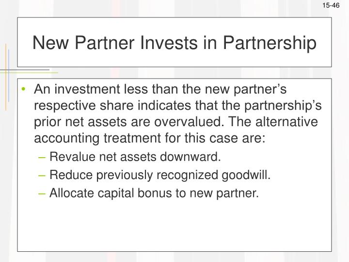 New Partner Invests in Partnership