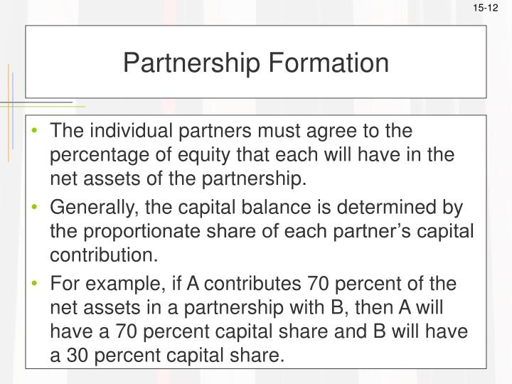 Partnership Formation
