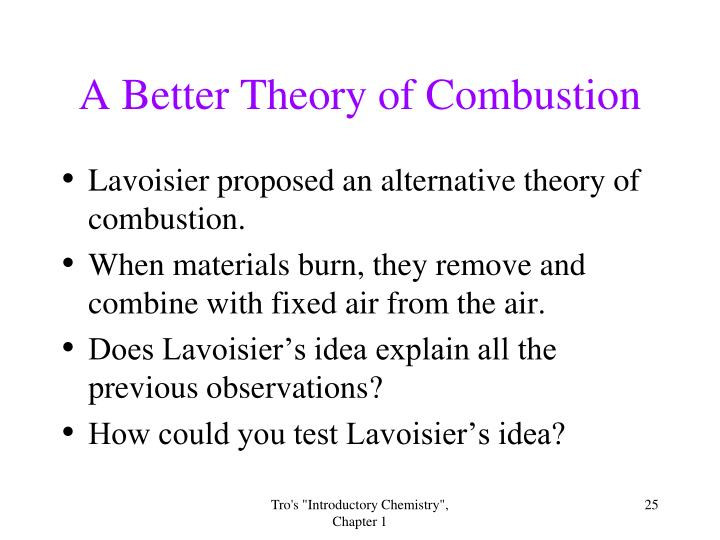 A Better Theory of Combustion