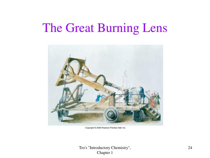The Great Burning Lens