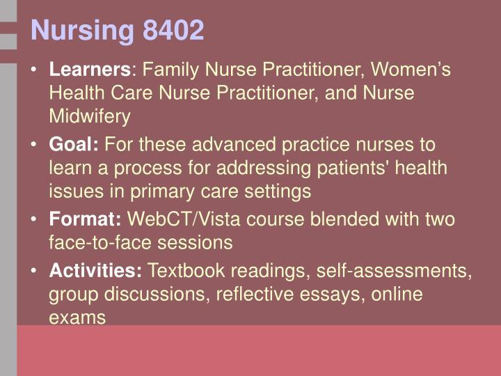 Nursing 8402