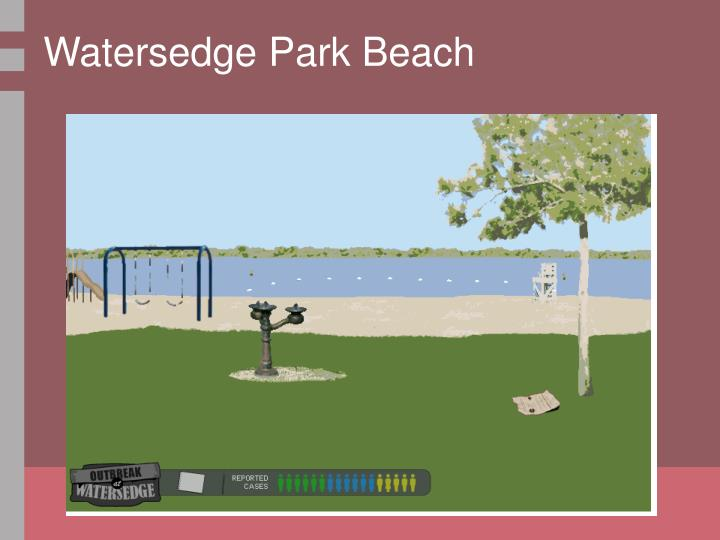 Watersedge Park Beach