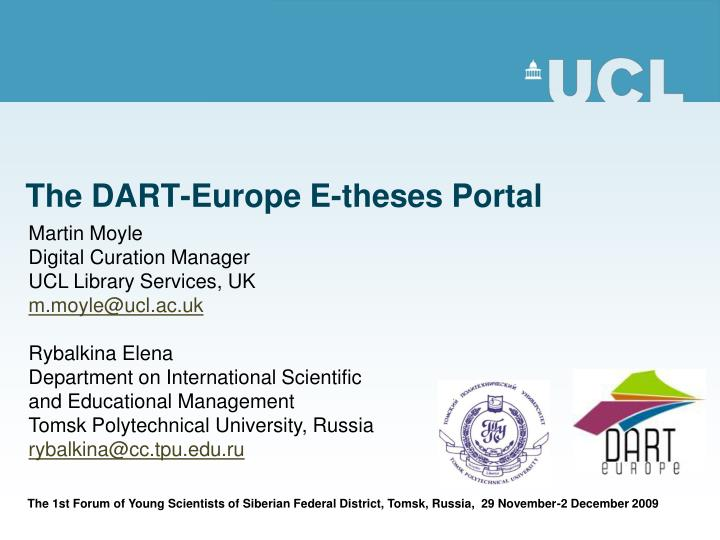the dart europe e theses portal