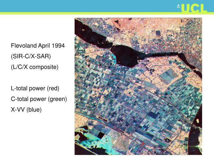 Flevoland April 1994