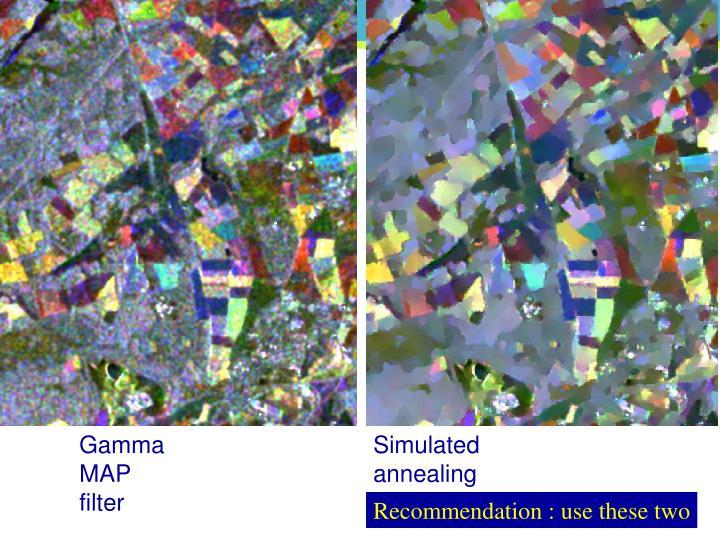 Gamma MAP filter