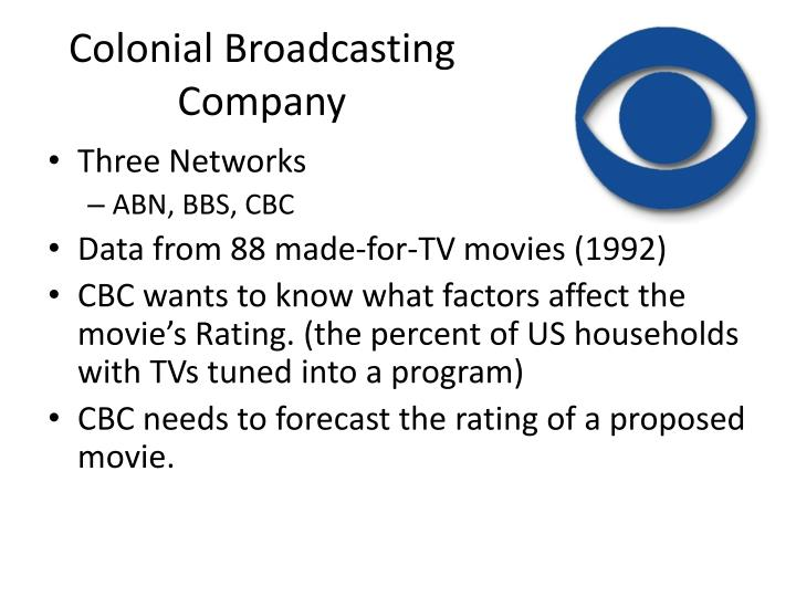 Colonial Broadcasting Company