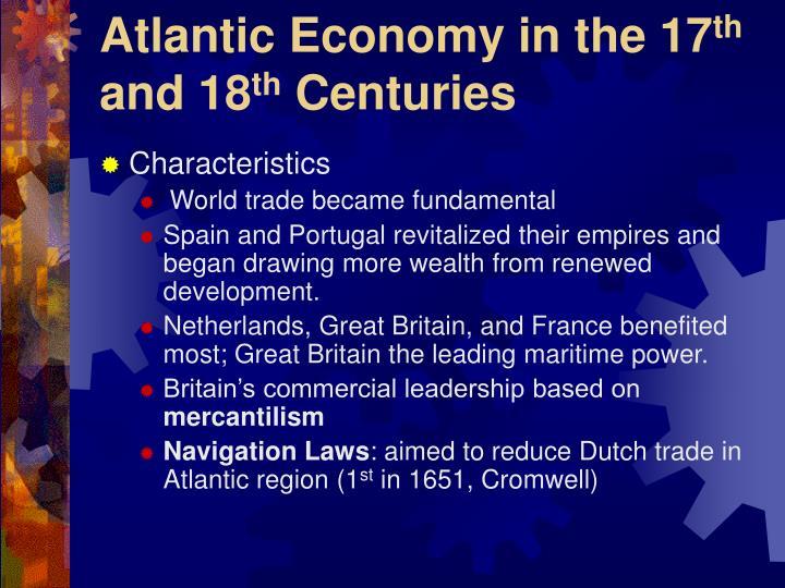 Atlantic Economy in the 17