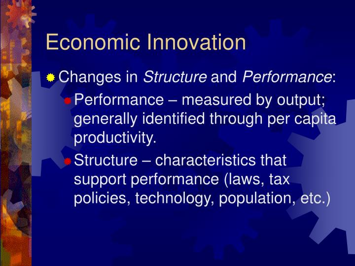 Economic Innovation