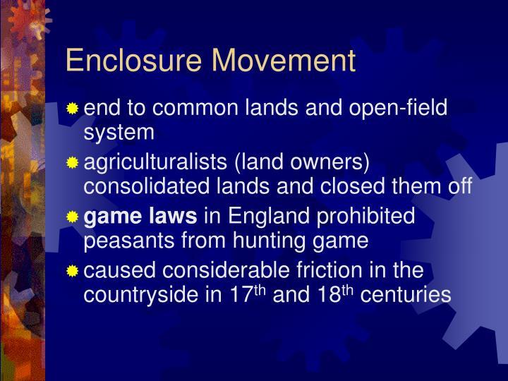 Enclosure Movement