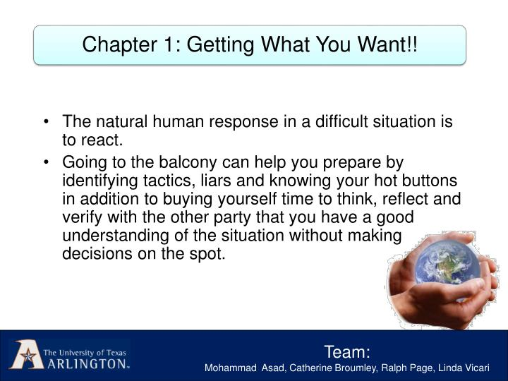 Chapter 1: Getting What You Want!!