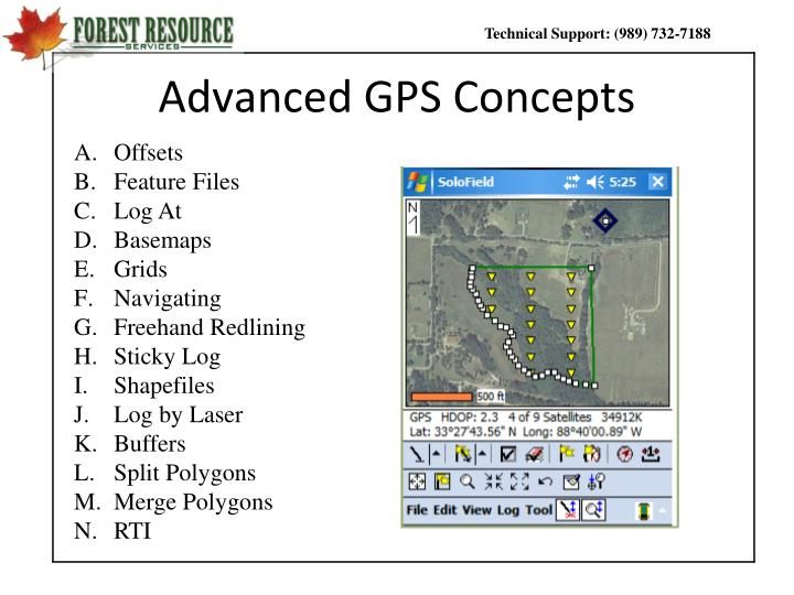 Advanced gps concepts