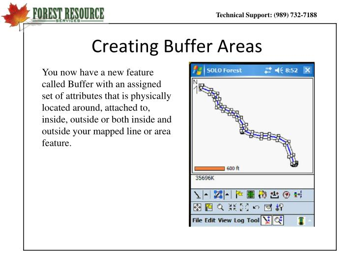Creating Buffer Areas