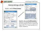 generating a grid