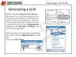 generating a grid2