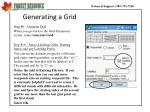 generating a grid7