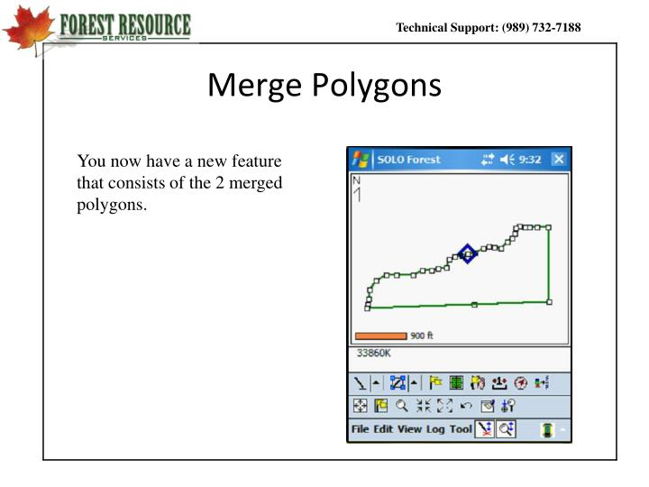 Merge Polygons