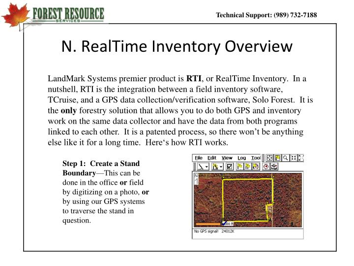 N. RealTime Inventory Overview