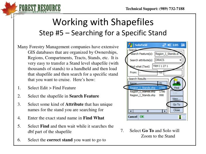 Working with Shapefiles