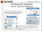 working with shapefiles step 8 editing the spatial data
