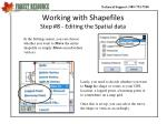 working with shapefiles step 8 editing the spatial data1