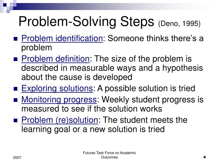 problem solving in psychology