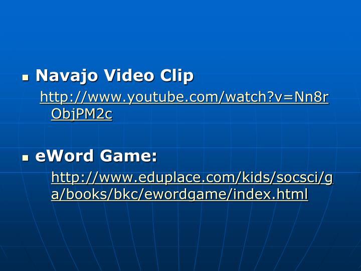 Navajo Video Clip