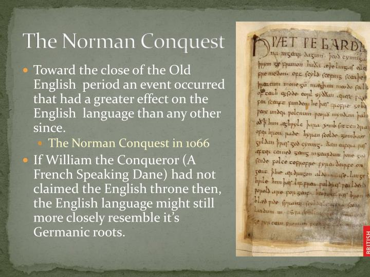 The norman conquest1