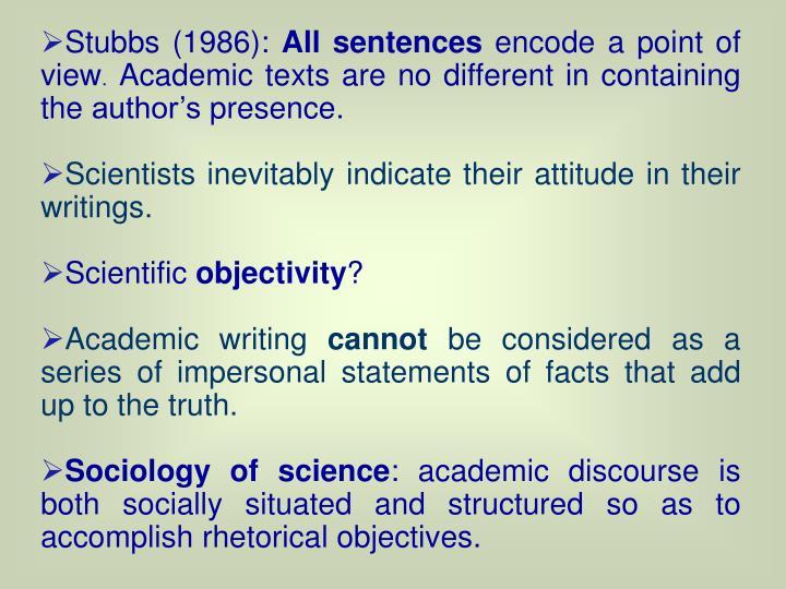 Stubbs (1986):