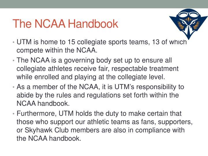 The NCAA Handbook