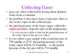 collecting gases