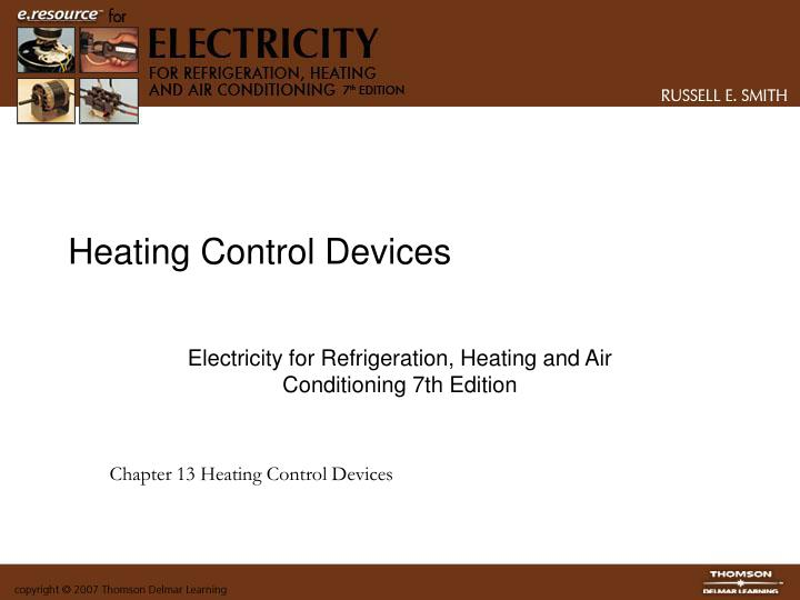 Heating control devices
