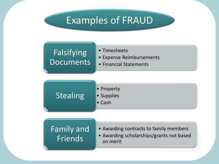 Falsifying Documents