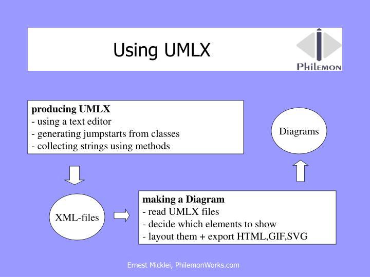 Using UMLX