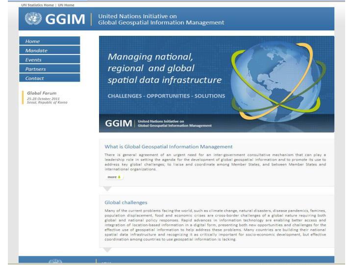 GGIM Web Site